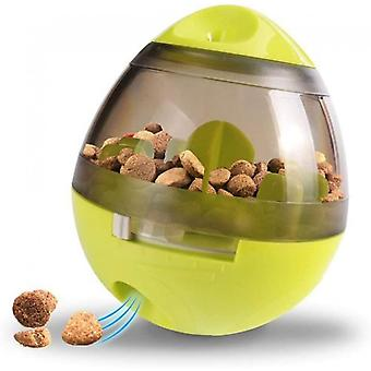 Dog Cat Toy Pet Food Container Slow Feeder Bowl Puzzle Dispenser