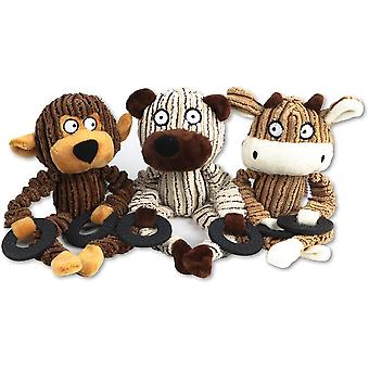 Dog Toys,plush Sound Toys,dog Squeak Toys, Non Stuffed Safe And Non-toxic Chewing Toys, For Medium And Large Size Dogs