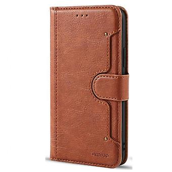 Luxury Retro Pu Leather Case For Iphone X Case Flip Book Wallet Card Stand Magnetic Cover For Iphone Xs Case Card Holder