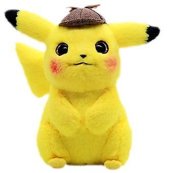 Pokémon Detective Pikachu Stuffed Animal Plush Softie 30cm