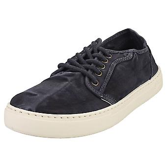 Natural World Old Snail Mens Casual Shoes in Marine