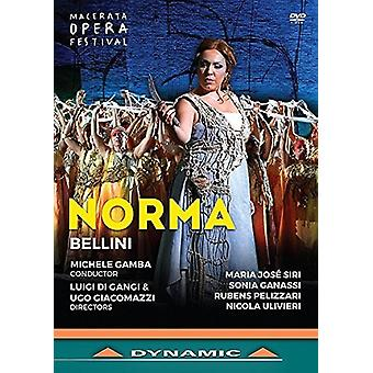 Norma [DVD] USA import