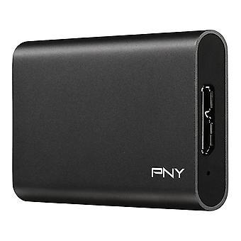 Extern hårddisk PNY CS1050 240 GB SSD Svart