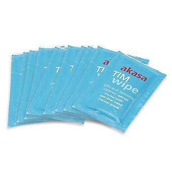 Akasa csomag 10 TIM tisztító törlőkendő