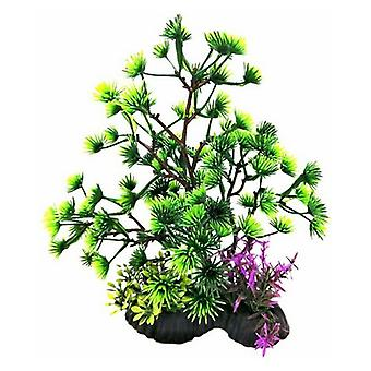"Penn Plax Bonsai Plant 7-8"" Verde - 1 conteggio"