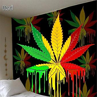 New 3d Print Maple Leaf Wall Hanging Tapestry Bedroom Decor Home Decor