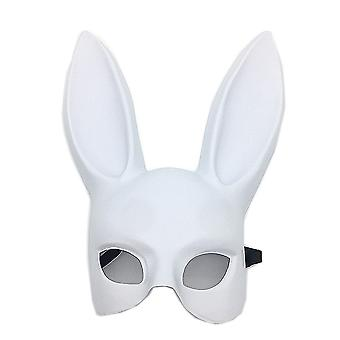 Masquerade Bunny Mask Rabbit Mask Bunny Half Mask for Birthday Party Easter Halloween Costume Accessory