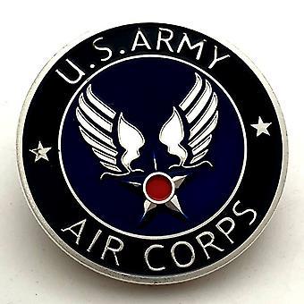 États-Unis Stars and Stripes Coin Badge Pièce commémorative retirée Cinq Collection de l'armée Pièce d'or commémorative