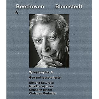 Beethoven: Symphony 9 [Blu-ray] USA import