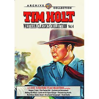 ティム ・ ホルト西部の古典のコレクション: 4 巻 【 DVD 】 USA 輸入