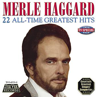 Merle Haggard - 22 All-Time Greatest Hits [CD] USA import