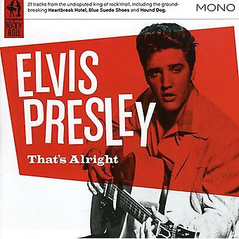 Elvis Presley - Thats Alright [CD] USA import