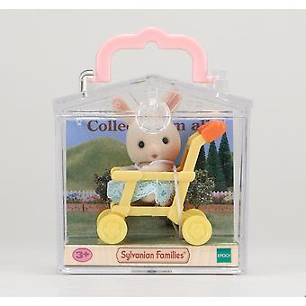 Sylvanian Families Rabbit on Pushchair Baby Carry Case