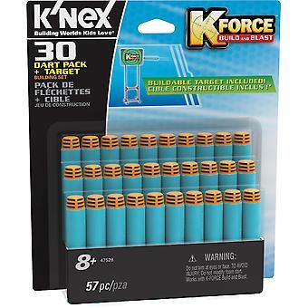 K ' NEX K Force 30 Dart Pack und Ziel