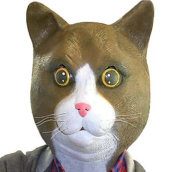 Cat mask Buster Brown full mask LaTeX kitty cat mask