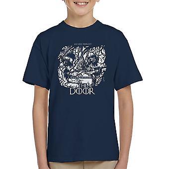 Hodor Hold The Door Game Of Thrones Scene Kid's T-Shirt