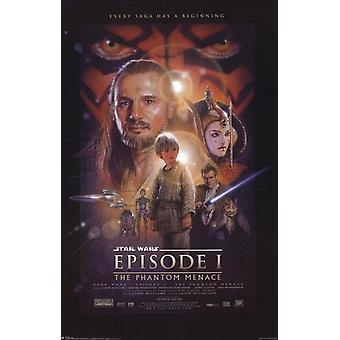 Star Wars - Episode I Poster Poster Print