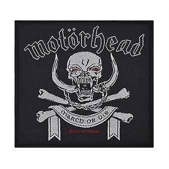 Motorhead March Or Die Woven Patch