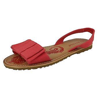 Womens Fleck auf Slingback Open Toe Sandal