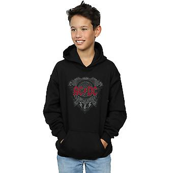 AC/DC Boys Black Ice With Red Hoodie