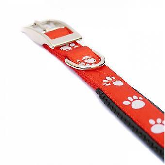 パッド入りのローズウッド反射ソフト保護ナイロン犬襟