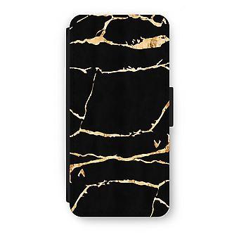 Samsung Galaxy S7 Flip Case - Gold Marmor