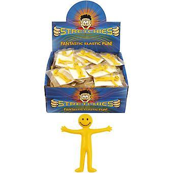 ستريتشيس هينبراندت الطفل/الأطفال مبتسم مطاطا رجل اللعب (مربع من 144)