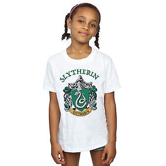 Harry Potter flickor Slytherin Crest T-Shirt