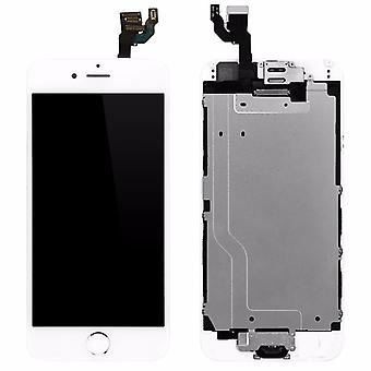 All in one display LCD complete unit touch panel for Apple iPhone 6 4.7 inch white