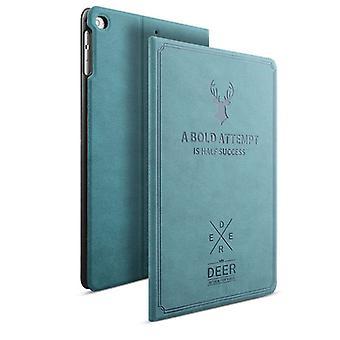 Design Tasche Backcase Smartcover Blau für Apple iPad Mini 4 7.9 Zoll Hülle Neu
