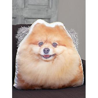 Adorable pomeranian shaped cushion