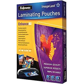 Fellowes Laminate sheet A3 80 micron glossy 100 pc(s)