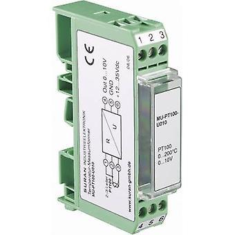 Enda MU-PT100-I420-50/100 Configurable Temperature Signal Conditioner For PT100.