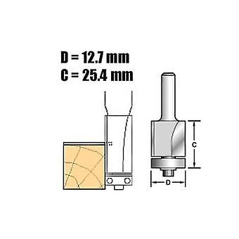 Trenden C116 X 1/4 volframkarbid själv guidade trimma 1/2 i