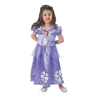 Sofia første klassiske prinsessen kjole Disney opprinnelige barn drakt