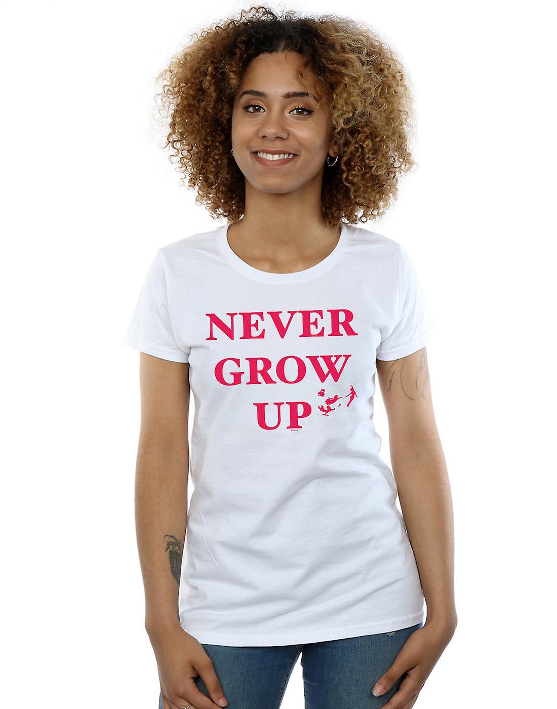 Disney Women's Peter Pan Never Grow Up T-Shirt