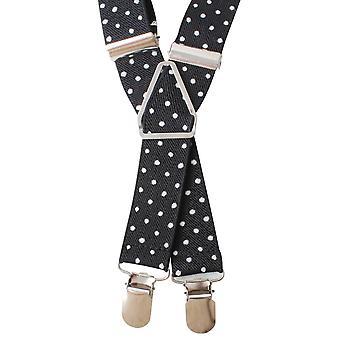 Knightsbridge Neckwear repéré accolades - noir/blanc