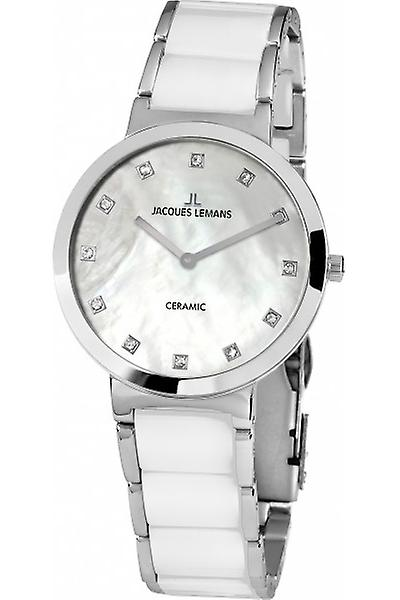 Ladies Jacques Lemans Milano Series Mother of Pearl Watch