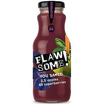 Flawsome! Apple & Superberry Cold Pressed Juice