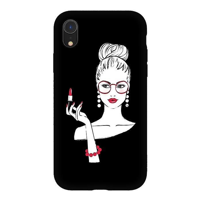 ArtsCase Designers Cases LADY LIPSTICK for Tough iPhone Xr