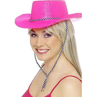 Cowboy Glitter Hat, One Size