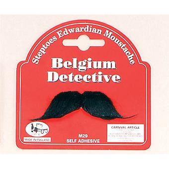 ベルギーの探偵口ひげ。