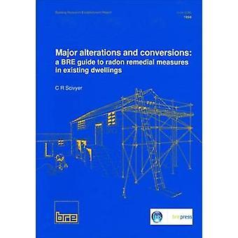 Store endringer og konverteringer - en BRE Guide til Radon avhjelpende tiltak