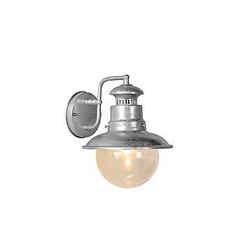 Яйца lucide Figo Vintage круглых алюминиевых цинка и серые стены света