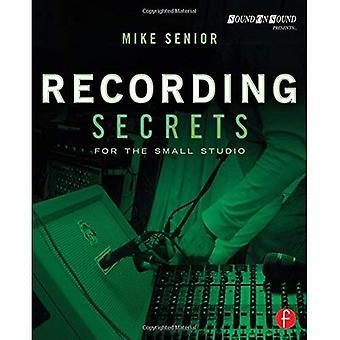 Opname geheimen voor de kleine Studio
