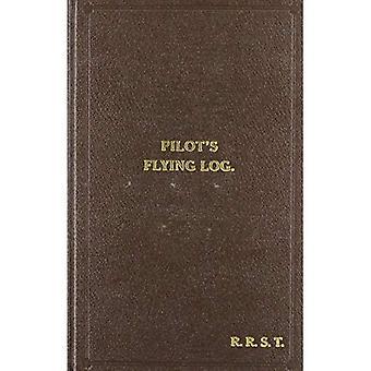 W/Cdr Robert Stanford Tuck Faksimile Flying Log-Buch (nach der Schlacht)