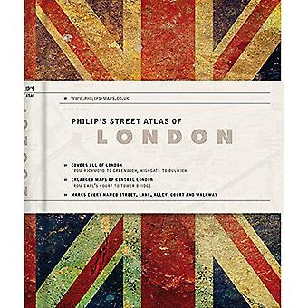 Philip's Gift Edition Street Atlas London - new hardback edition for 2018: De Luxe Edition Union Jack� (Philip's Street Atlas)