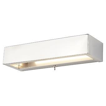 Chrome Rectangle mur LED Light - projecteur 1781CC