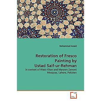 Wiederherstellung der Freskomalerei von Ustad SaifurRehman von Junaid & Muhammad
