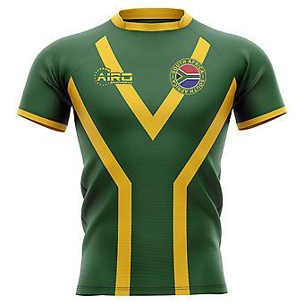 2020-2021 Etelä-Afrikka Springboks Flag Concept Rugby Paita - Kids